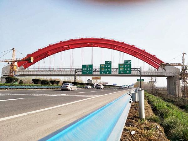 河南许昌1号系杆拱特大桥