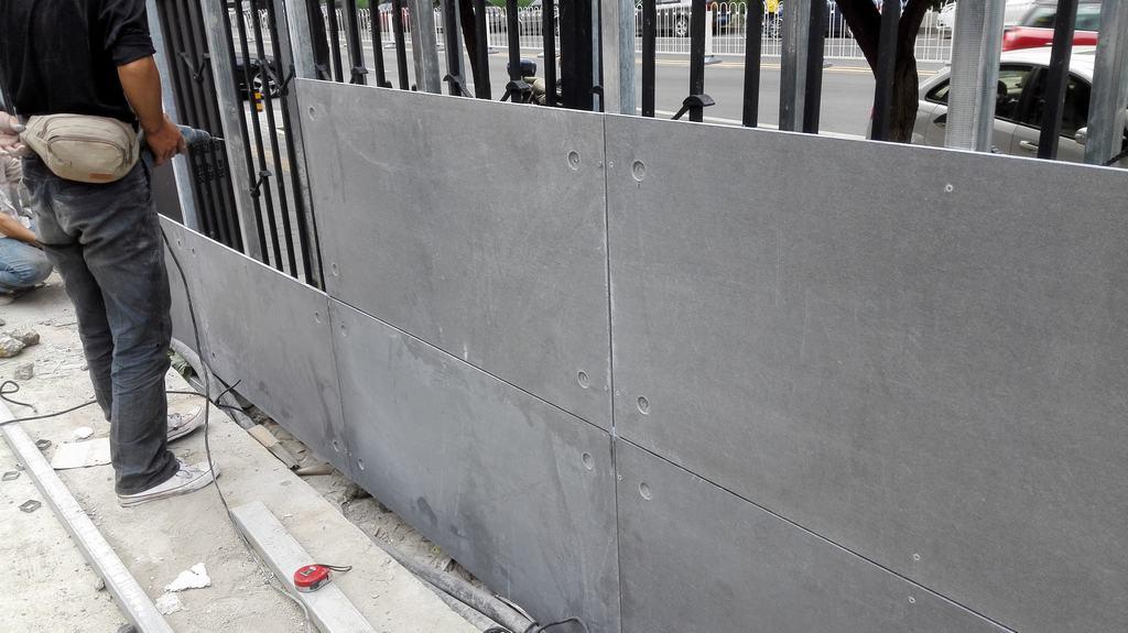 纤维水泥板--无石棉纤维增强水泥板