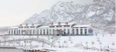 山东日照五莲山滑雪场