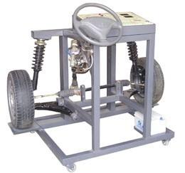 电控(电动)助力转向与前悬挂实训台