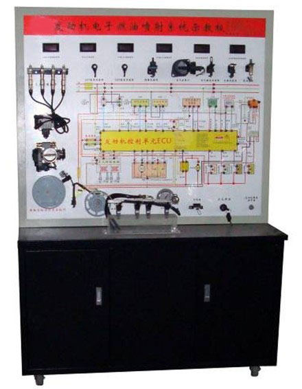 汽油车电子燃油喷射系统示教板