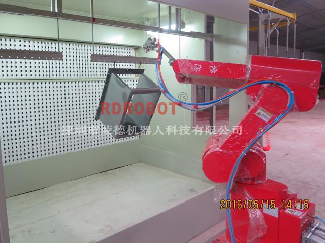 电箱机器人自动喷漆线