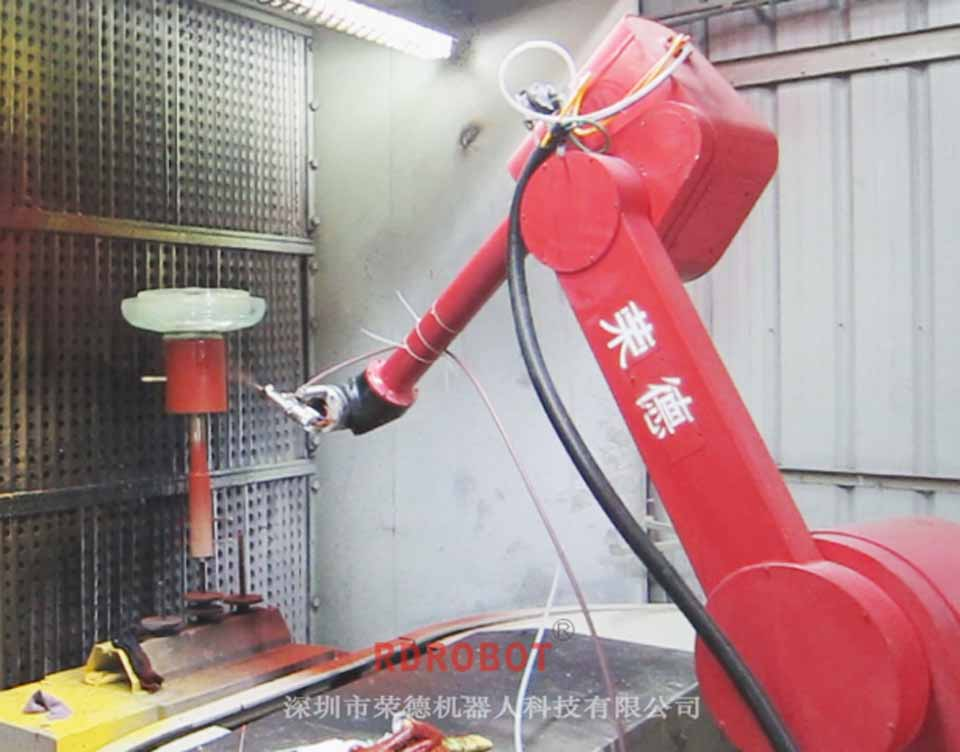 绝缘子机器人涂装设备