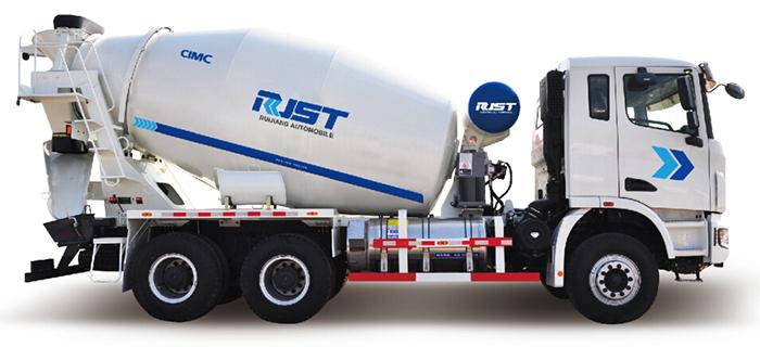 LNG Camión Mixer de Concreto