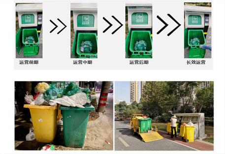 余杭区垃圾分类六定模式项目案例