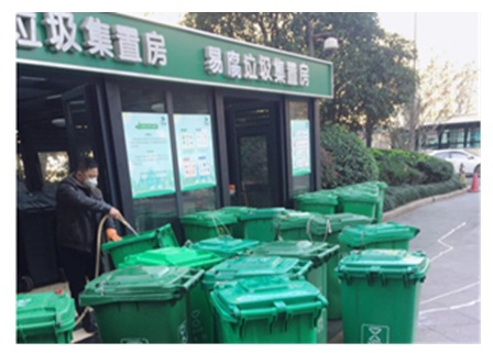 杭州博奥城小区智能+垃圾分类新模式