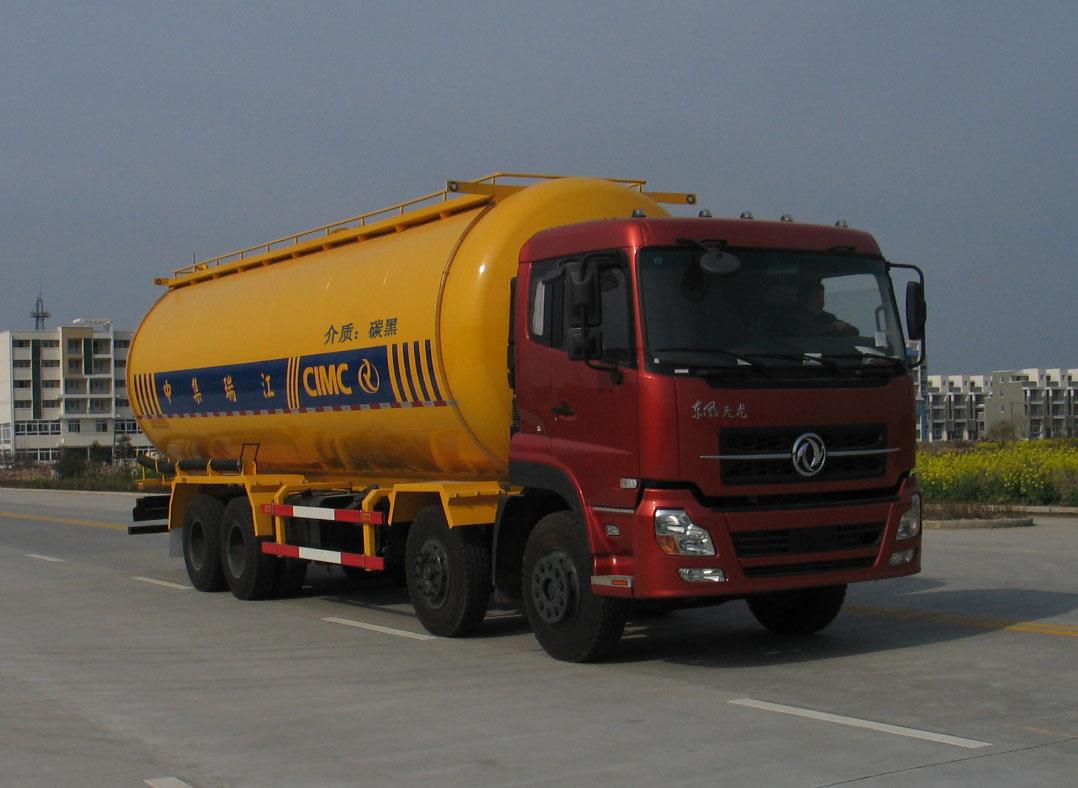 DMF 8*4 цистерна для перевозки сыпучных материалов