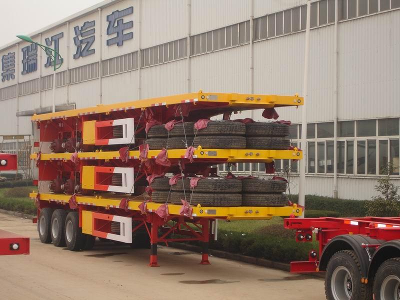 40 футов тяжелый грузовик c бортовой платформой