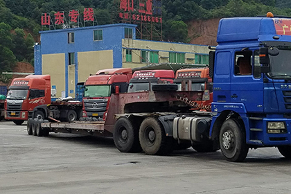 大件货运专用货车图