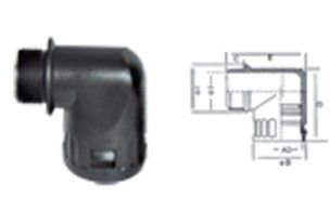 HM-SM-W软管直角接头