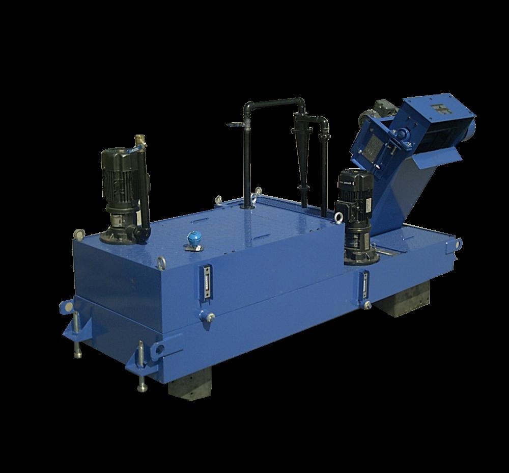 反冲滚筒排屑系统