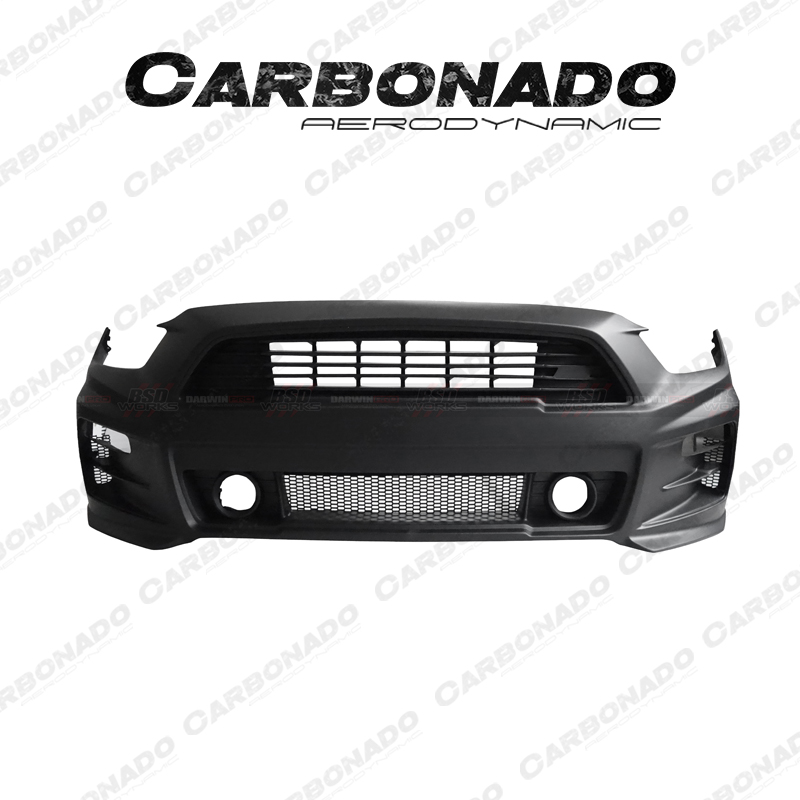 Carbonado 2015-2016 Ford Mustang Roush Style front bumper