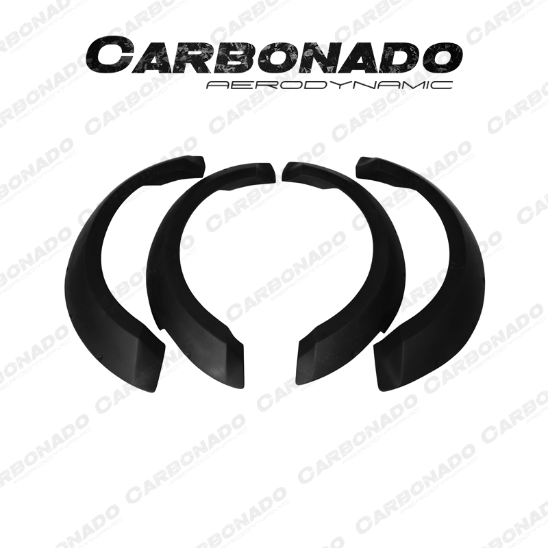 Carbonado 2014-2017 Ford Mustang TRU style FRP Wide Fender Flare