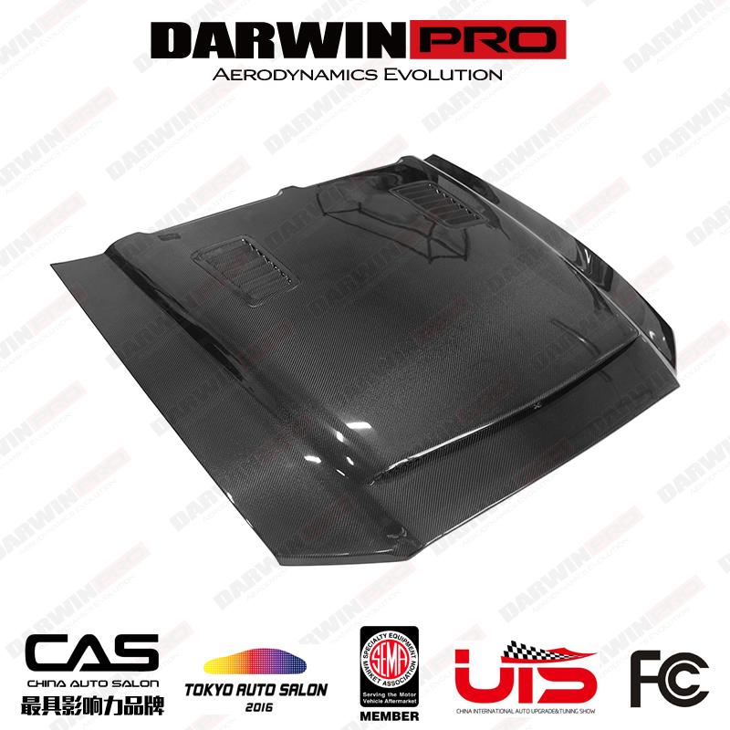 DarwinPRO 2005-2013 Mustang BMC style  Hood