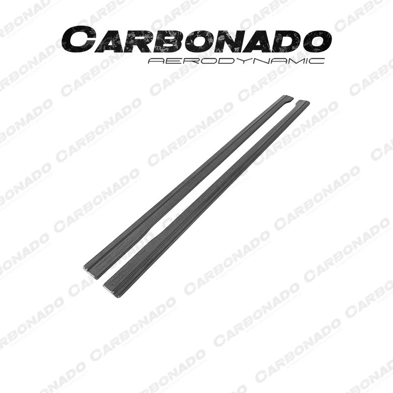 Carbonado Audi RS6 Maxton Style Carbon Fiber Side Skirts