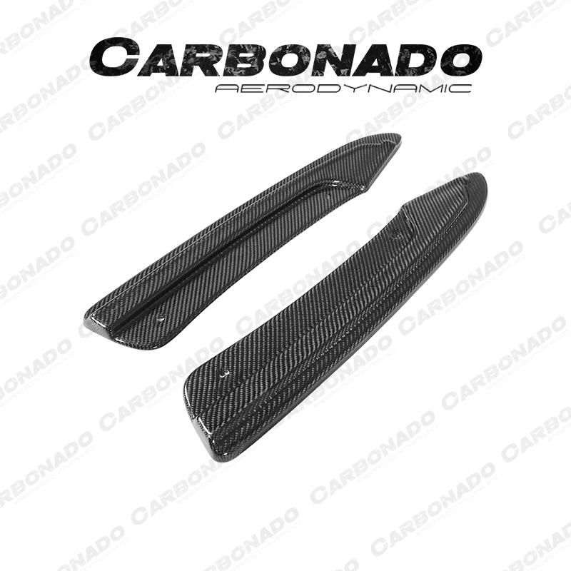 Carbonado Audi RS6 Maxton Style Carbon Fiber Rear Caps