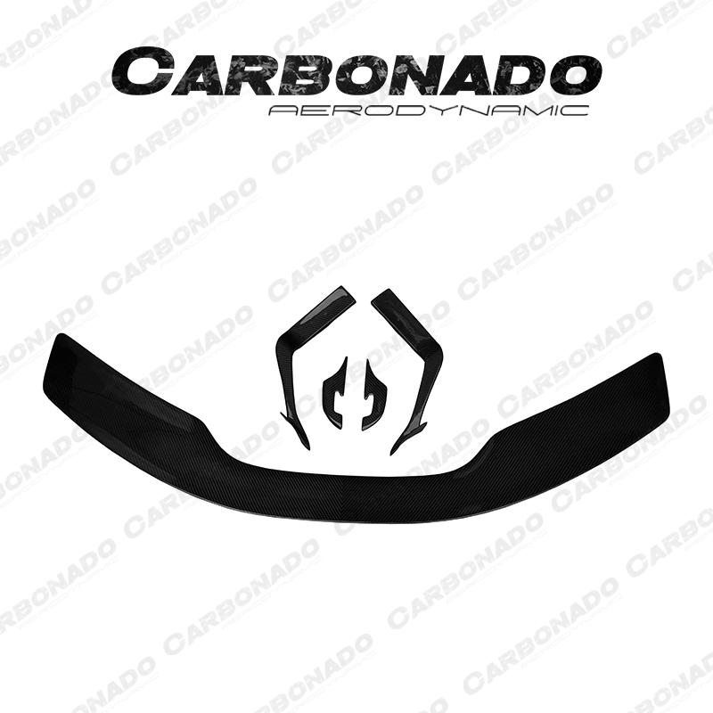 Canbonado 2016-UP McLaren 570S NVT Style Trunk Spoiler