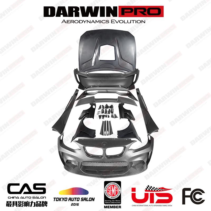 DarwinPRO MTC Black Sails wide body kit for F87 M2