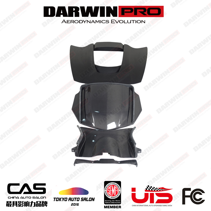 DarwinPRO Corvette C7 ZR1 Style Carbon Fiber Hood