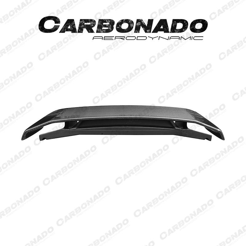 Carbonado Porsche 911 Carrera 991 TA Style Carbon Fiber Trunk Spoiler