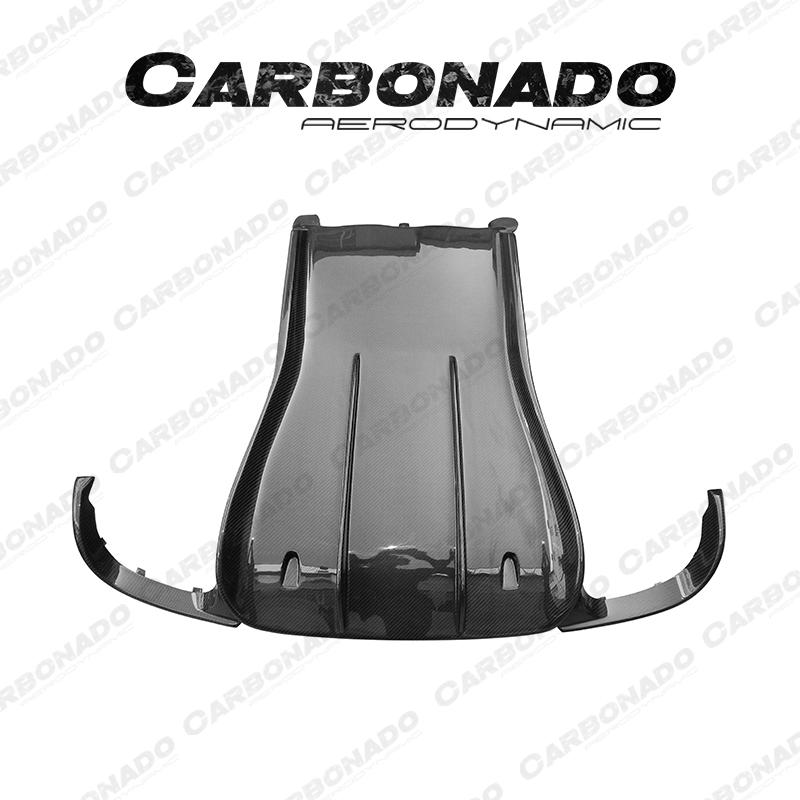 Carbonado Porsche 911 Carrera 991 VRS Carbon Fiber Rear Diffuser