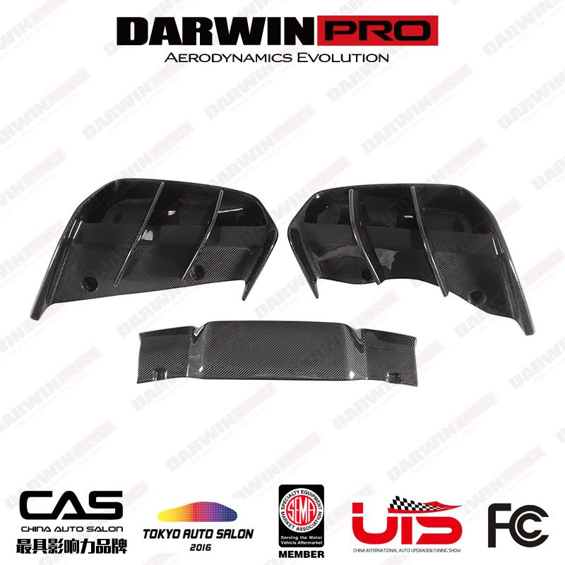 DarwinPRO BMW i8 Electric Berserker Style Carbon Fiber Rear Diffuser