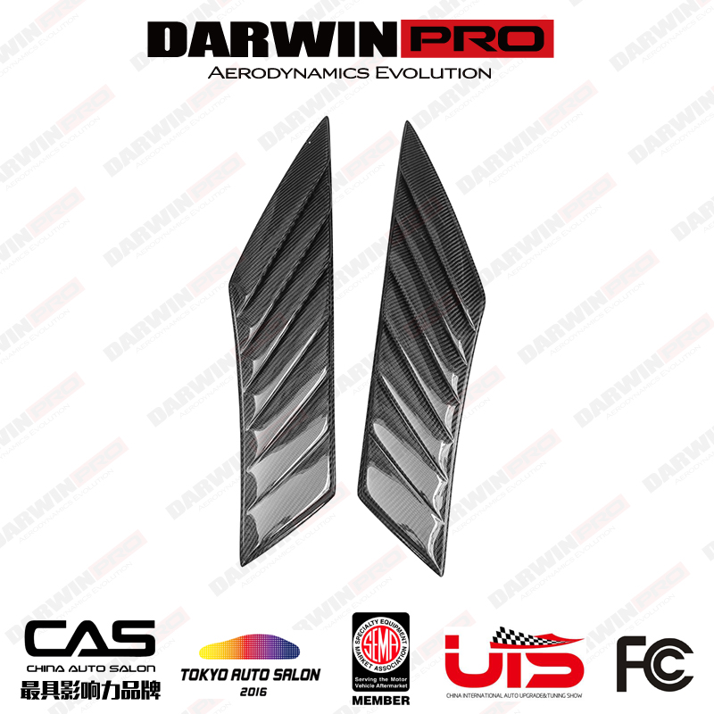 DarwinPRO BMW i8 Electric Berserker Style Carbon Fiber Fender Vents