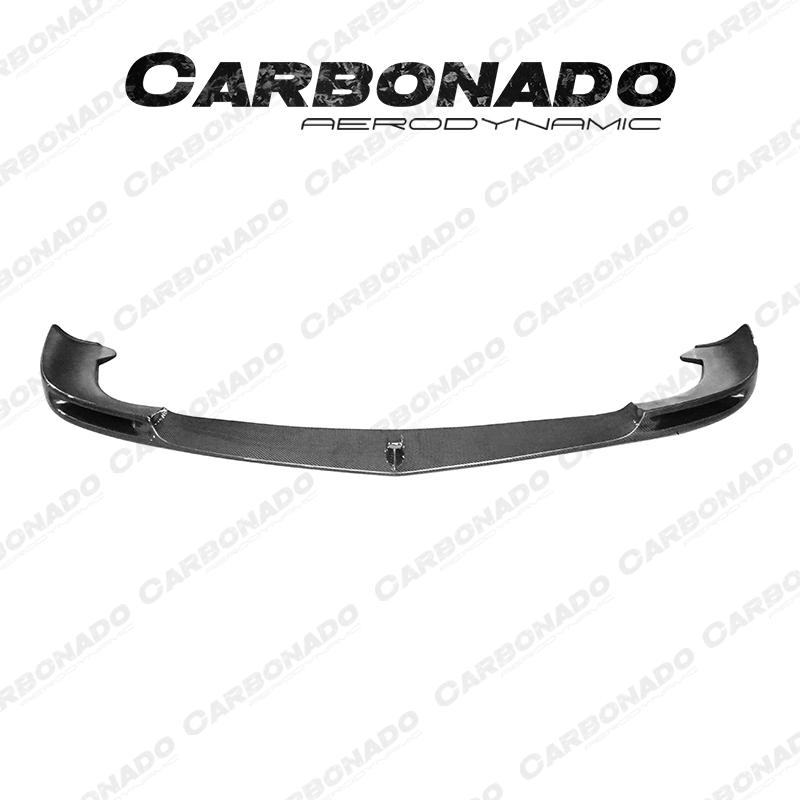 Carbonado Mercedes-Benz W218 CLS63 AMG VRS Carbon Fiber Front Lip
