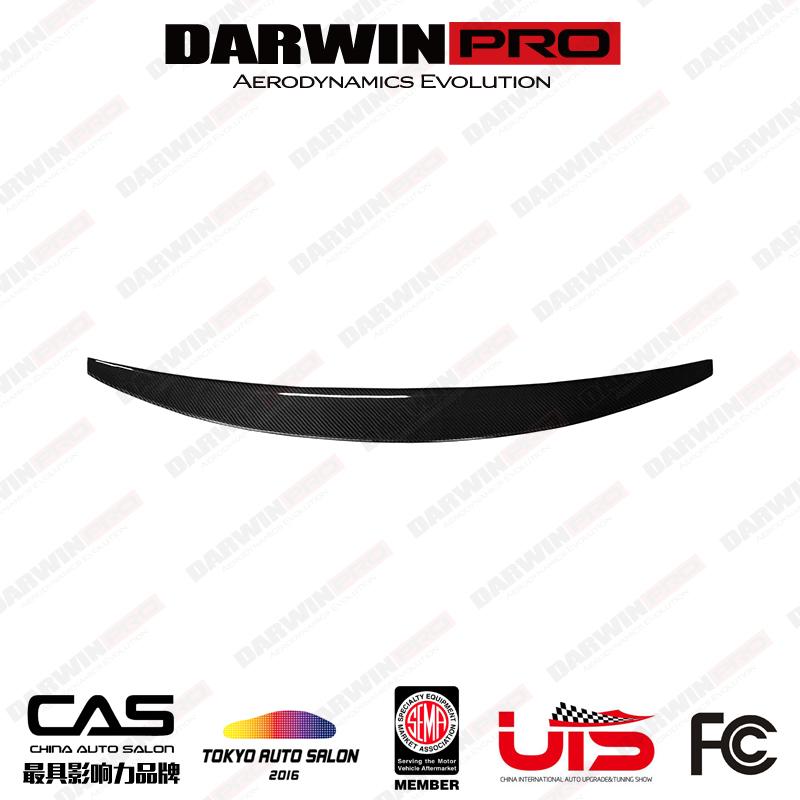 DarwinPRO Sport Style Carbon Fiber Trunk Spoiler For Audi S5 A5