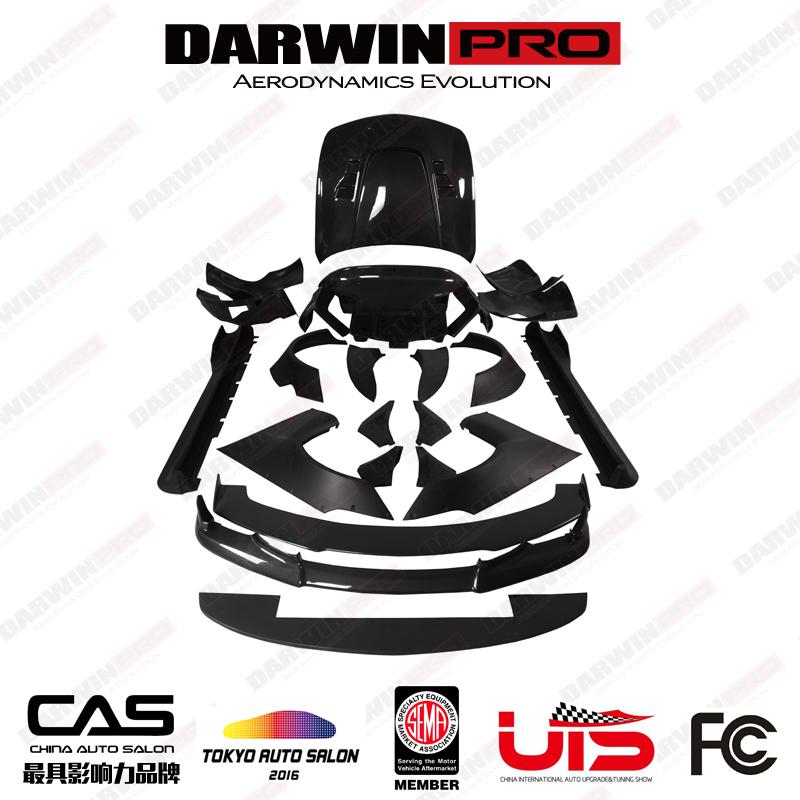 DarwinPRO BKSS Style Carbon Fiber Body Kit For Infiniti G37 Sedan