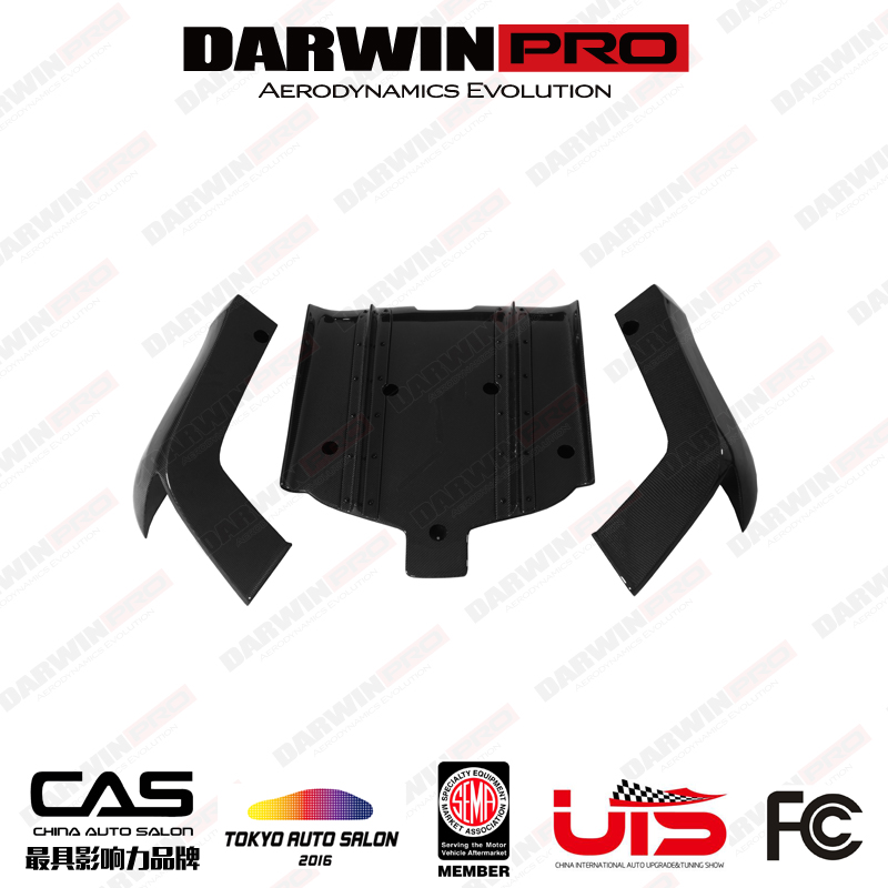 DarwinPRO BKSS Style Carbon Fiber Rear Diffuser For Infiniti G37 Sedan