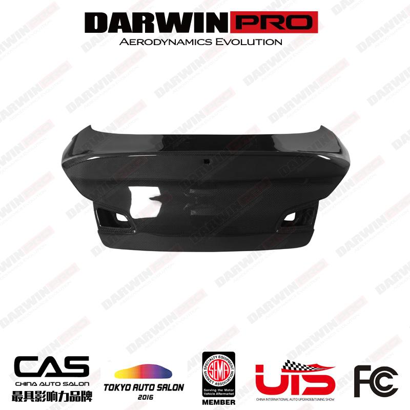 DarwinPRO BKSS Style Carbon Fiber Trunk For Infiniti G37 Sedan