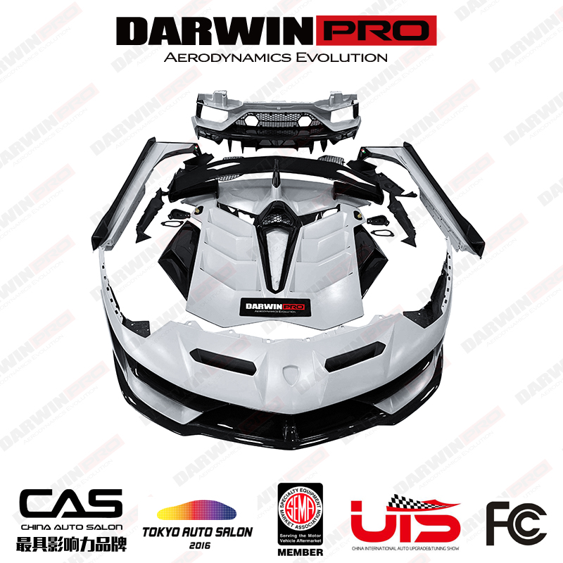 DarwinPRO Dry Carbon Fiber Body Kit For Lamborghini Avantador SVJ LP700/720/740/750