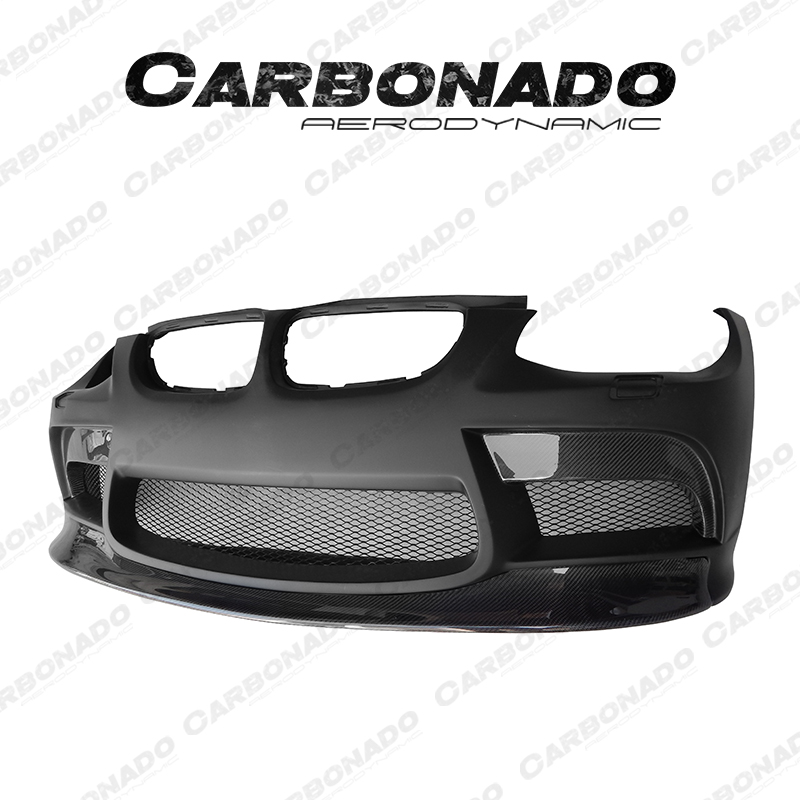Carbonado VRS Style Portion Carbon Fiber Front Bumper For 08-13 BMW M3 E92 E93