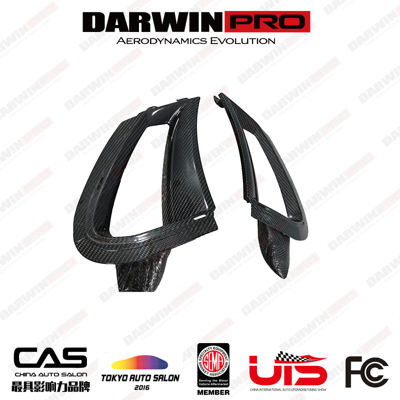 DarwinPRO OEM Style Dry Carbon Fiber FB Side Air Vents For McLaren 720S