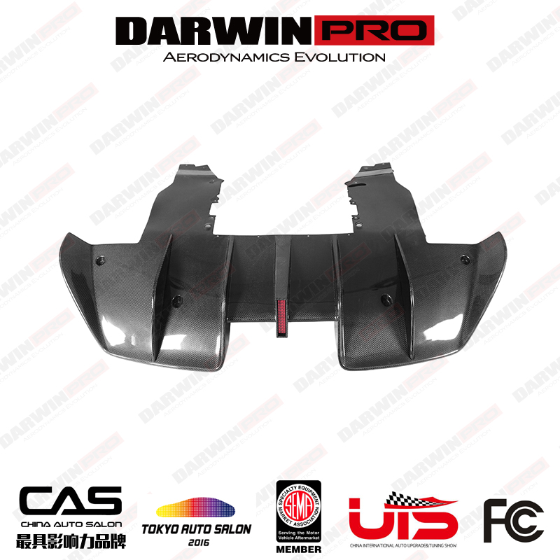 DarwinPRO Se²NWB Style Carbon Rear Diffuser For McLaren 720S