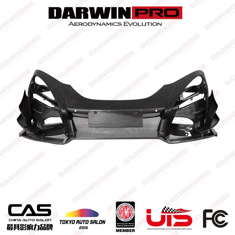 DarwinPRO Se²GTR Style Partial Carbon Front Bumper For McLaren 720S
