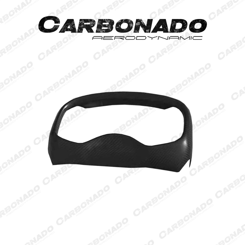 Dry Carbon Fiber Instrument Surround Panel Cover For McLaren 570S 540c 600lt