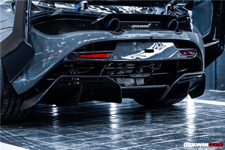 DarwinPRO BKSS Style Carbon Rear Diffuser For McLaren 720S