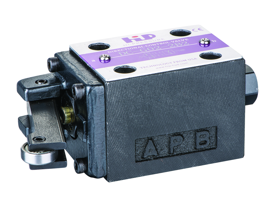 DC系列机械换向阀 Cam Operated Directional Valve