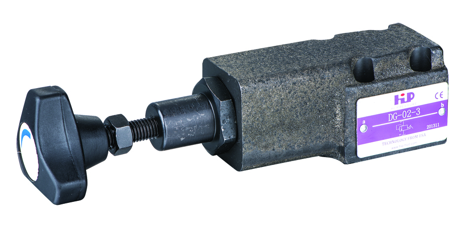DG直动式溢流阀 Direct Operated Relief Valve