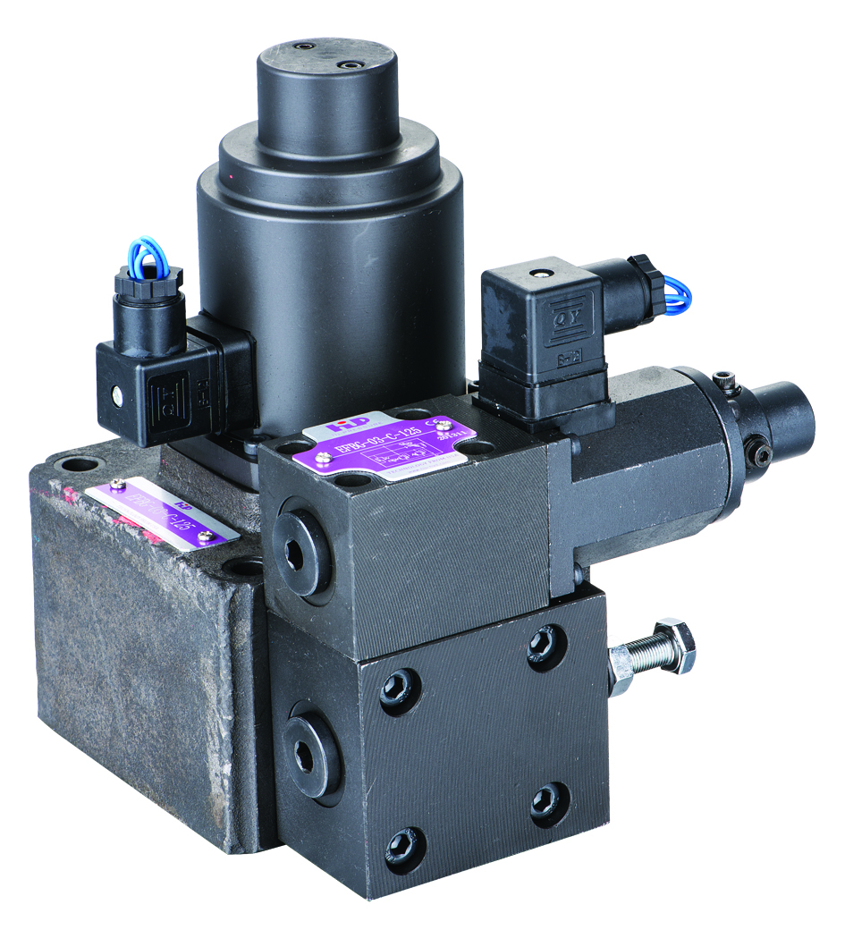 EFBG双比例阀 Solingoid Pilot Operated Propotional Relief &Flow Control Valve