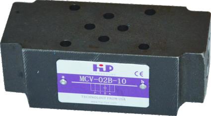 MCV疊加單向閥 Modular Check Valves