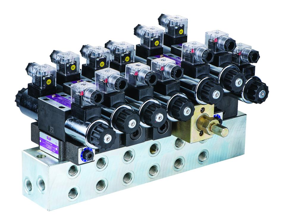 掃路車專用液壓總成 Hydraulic Integrated Unit