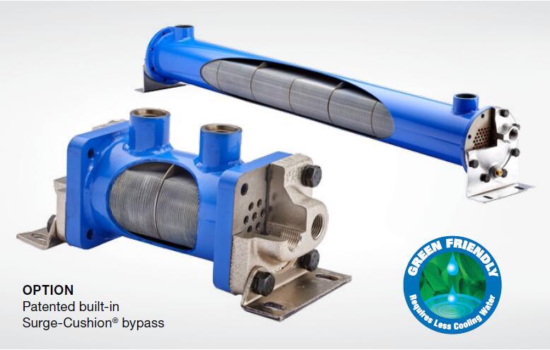 EK热交换器,TTP油冷却器