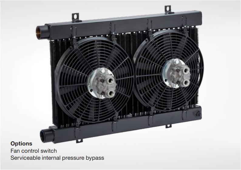 风冷式热交换器,油冷却器,冷却液压油