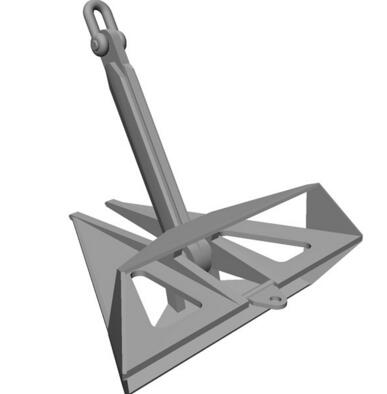 船用三角锚