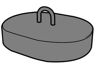 铸钢配重块
