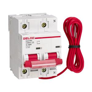 德力西CDB9S-125 IC卡预付费电表专用小型断路器