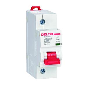 德力西CDB9-125大电流小型断路器